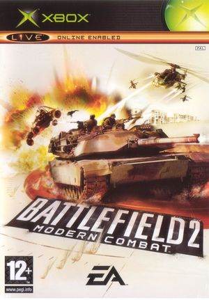 Cover for Battlefield 2: Modern Combat.
