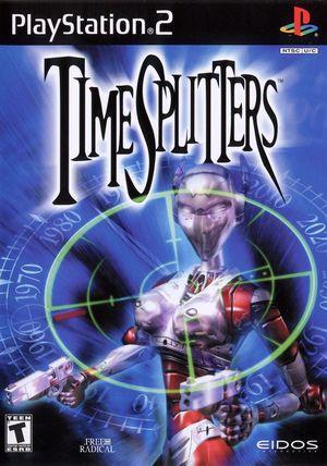 Cover for TimeSplitters.