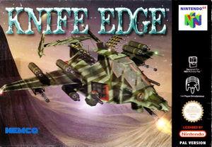 Cover for Knife Edge: Nose Gunner.