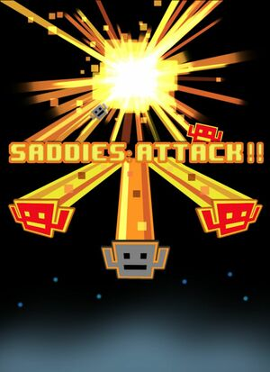 Cover for Saddies: Attack!!.