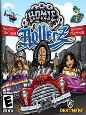 Cover for Homie Rollerz.