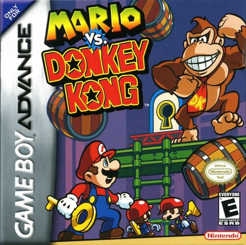Cover for Mario vs. Donkey Kong.
