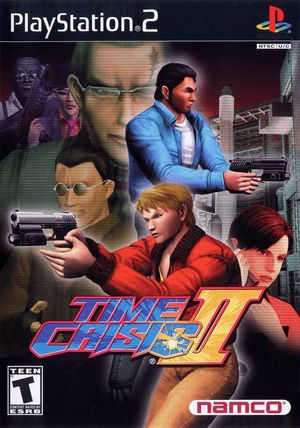 Cover for Time Crisis II.