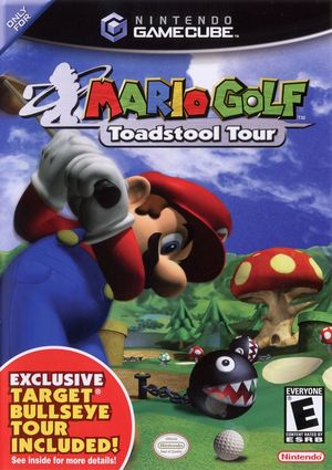Cover for Mario Golf: Toadstool Tour.