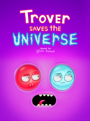 Cover for Trover Saves the Universe.