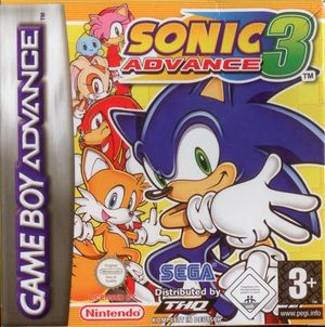 Cover for Sonic Advance 3.
