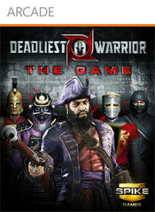 Cover for Deadliest Warrior: The Game.