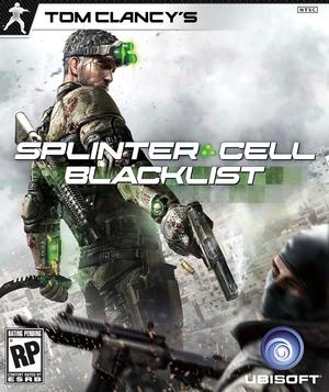 Cover for Tom Clancy's Splinter Cell: Blacklist.