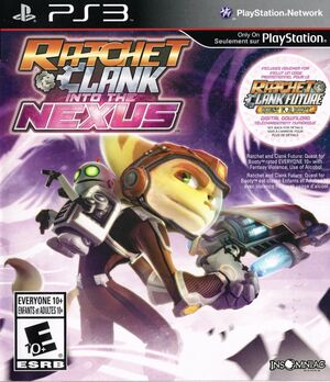 Cover for Ratchet & Clank: Into the Nexus.
