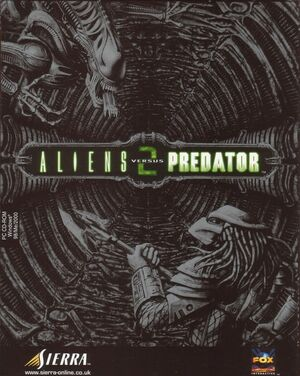 Cover for Aliens versus Predator 2.