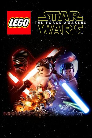 Cover for Lego Star Wars: The Force Awakens.