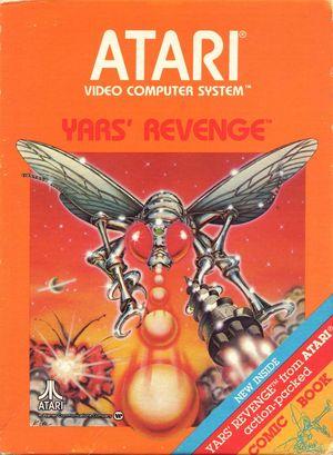 Cover for Yars' Revenge.