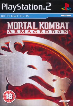Cover for Mortal Kombat: Armageddon.