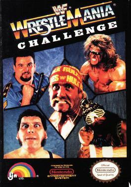 Cover for WWF WrestleMania Challenge.