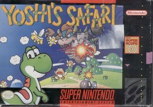 Cover for Yoshi's Safari.