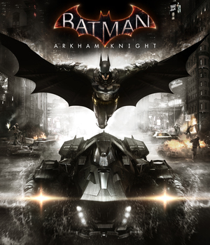 Cover for Batman: Arkham Knight.