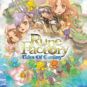 Cover for Rune Factory: Tides of Destiny.