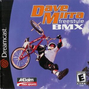 Cover for Dave Mirra Freestyle BMX.