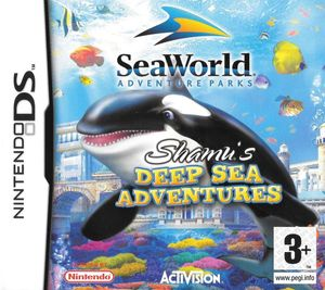 Cover for Shamu's Deep Sea Adventures.