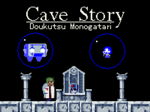 Cover for Cave Story+.