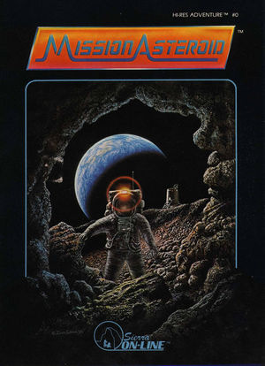 Cover for Mission Asteroid.