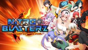 Cover for Nitroplus Blasterz: Heroines Infinite Duel.