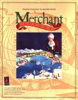Cover for Merchant Colony.