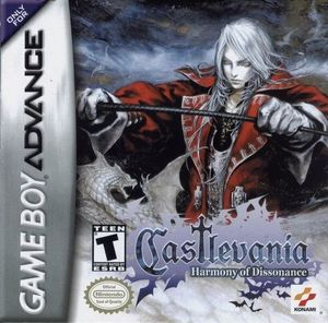 Cover for Castlevania: Harmony of Dissonance.