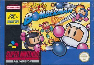 Cover for Super Bomberman.