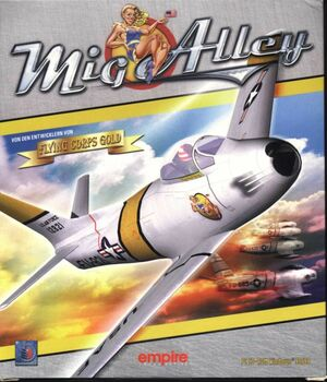 Cover for MiG Alley.