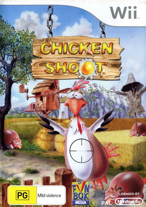 Cover for Chicken Shoot.