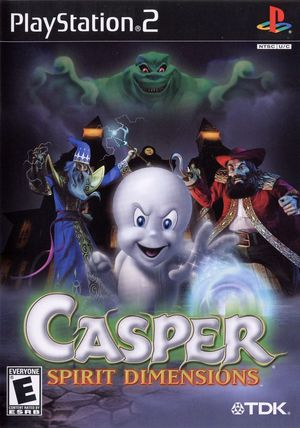 Cover for Casper: Spirit Dimensions.