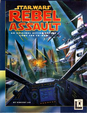 Cover for Star Wars: Rebel Assault.