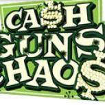 Cover for Cash Guns Chaos.