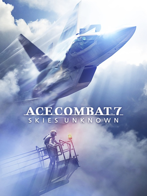 Cover for Ace Combat 7: Skies Unknown.