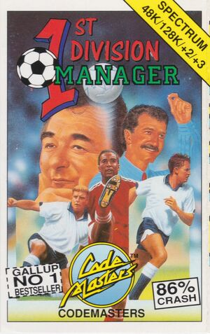Cover for 1st Division Manager.