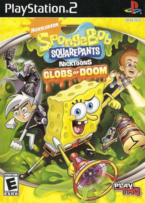 Cover for SpongeBob SquarePants featuring Nicktoons: Globs of Doom.