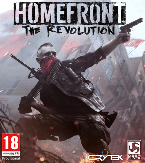 Cover for Homefront: The Revolution.