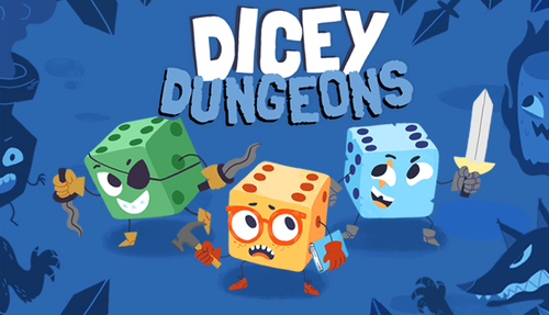 Cover for Dicey Dungeons.