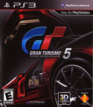 Cover for Gran Turismo 5.