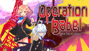 Cover for Operation Babel: New Tokyo Legacy.