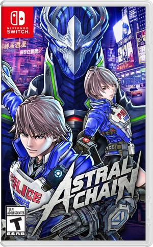 Cover for Astral Chain.
