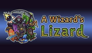 Cover for A Wizard's Lizard.