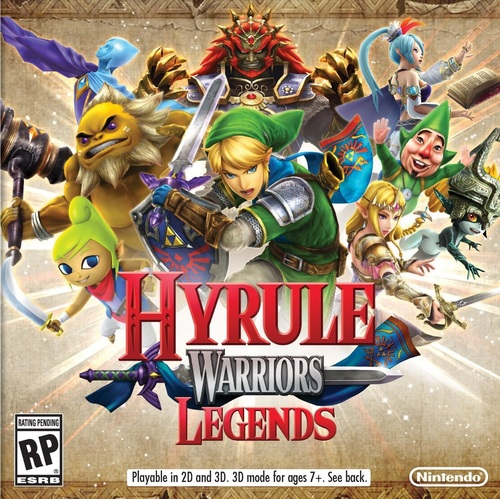 Cover for Hyrule Warriors Legends.