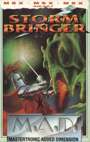 Cover for Stormbringer.