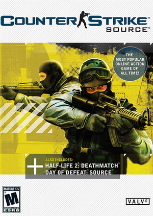 Cover for Counter-Strike: Source.