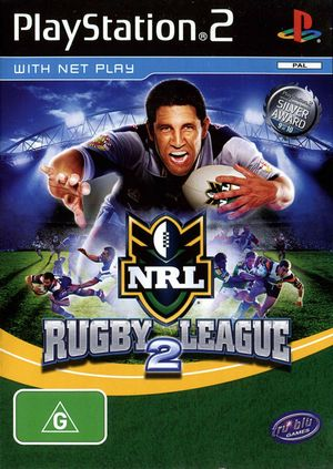 Cover for Rugby League 2.