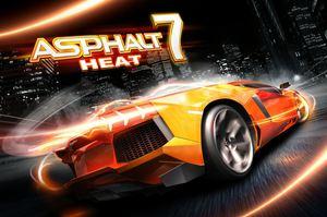 Cover for Asphalt 7: Heat.
