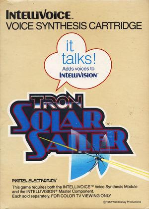 Cover for Tron: Solar Sailer.