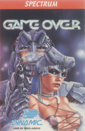Cover for Game Over.